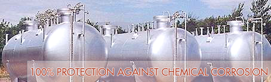 Rubber lining of Storage Tanks / Process Equipments / Vessels for 100% protection against chemical corrosion